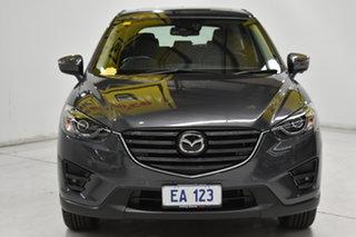2016 Mazda CX-5 KE1032 Akera SKYACTIV-Drive i-ACTIV AWD Grey 6 Speed Sports Automatic Wagon.