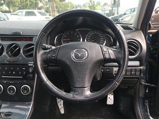 2005 Mazda 6 GG1031 MY04 Luxury Sports Blue 5 Speed Manual Hatchback