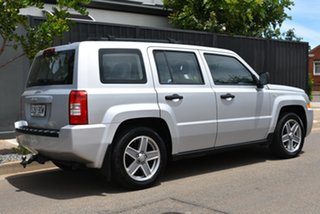 2007 Jeep Patriot MK MY2007 Sport Silver 6 Speed Manual Wagon