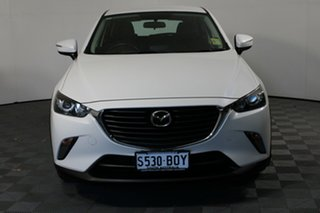 2017 Mazda CX-3 DK2W7A Maxx SKYACTIV-Drive Snowflake White 6 Speed Sports Automatic Wagon