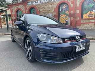 2014 Volkswagen Golf VII MY14 GTI DSG Performance Blue 6 Speed Sports Automatic Dual Clutch.