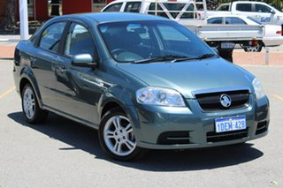 2009 Holden Barina TK MY10 Green 4 Speed Automatic Sedan.