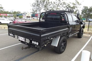 2013 Holden Colorado RG MY13 LX Crew Cab Black 5 Speed Manual Cab Chassis