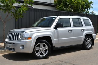2007 Jeep Patriot MK MY2007 Sport Silver 6 Speed Manual Wagon.