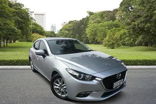 2017 Mazda 3 BN5478 Maxx SKYACTIV-Drive Billet Silver 6 Speed Sports Automatic Hatchback.