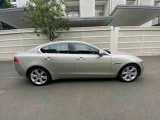 2016 Jaguar XE X760 MY16 Prestige Silver 8 Speed Sports Automatic Sedan.