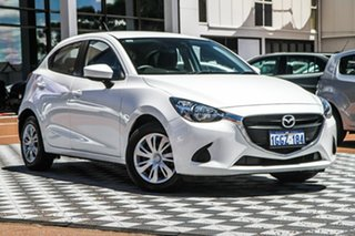 2017 Mazda 2 DJ2HA6 Neo SKYACTIV-MT White 6 Speed Manual Hatchback.