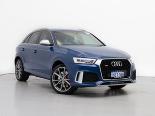 2017 Audi RS Q3 8U MY17 2.5 TFSI Quattro (Performance) Ascari Blue 7 Speed Auto Direct Shift Wagon.