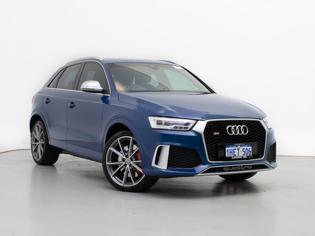 Used Audi RS Q3 8U MY17 2.5 TFSI Quattro (Performance), 2017 Audi RS Q3 8U MY17 2.5 TFSI Quattro (Performance) Ascari Blue 7 Speed Auto Direct Shift Wagon
