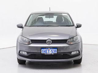 2016 Volkswagen Polo 6R MY16 81 TSI Comfortline Grey 7 Speed Auto Direct Shift Hatchback.