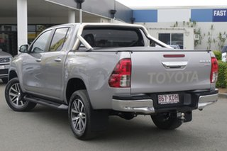 2017 Toyota Hilux GUN126R SR5 Double Cab Silver Metallic 6 Speed Sports Automatic Utility.