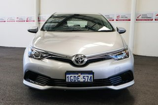 2016 Toyota Corolla ZRE182R MY15 Ascent Silver Pearl 7 Speed CVT Auto Sequential Hatchback.