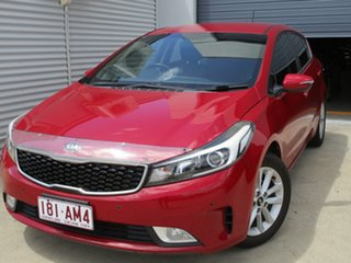 2016 Kia Cerato YD MY16 S Premium Red 6 Speed Sports Automatic Hatchback.