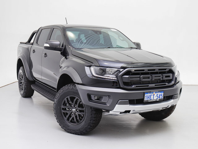 Used Ford Ranger PX MkIII MY20.25 Raptor 2.0 (4x4), 2020 Ford Ranger PX MkIII MY20.25 Raptor 2.0 (4x4) Black 10 Speed Automatic Double Cab Pick Up