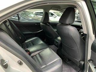 2013 Lexus IS GSE30R IS250 Luxury Silver 6 Speed Sports Automatic Sedan