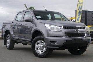 2016 Holden Colorado RG MY16 LS Crew Cab 4x2 Satin Steel Grey 6 Speed Sports Automatic Utility.