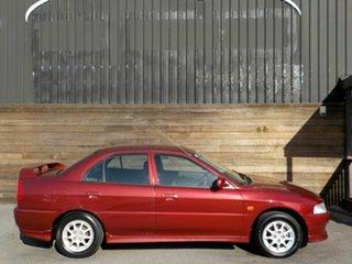 2000 Mitsubishi Lancer CE2 VR-X GLi Red 5 Speed Manual Sedan.