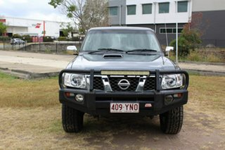 2006 Nissan Patrol GU IV MY05 ST Blue 5 Speed Manual Wagon.