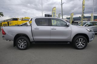 2017 Toyota Hilux GUN126R SR5 Double Cab Silver Metallic 6 Speed Sports Automatic Utility