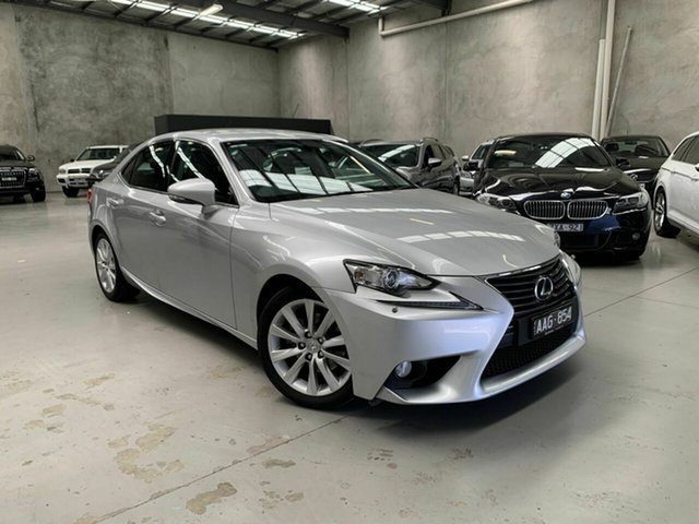 Used Lexus IS GSE30R IS250 Luxury Coburg North, 2013 Lexus IS GSE30R IS250 Luxury Silver 6 Speed Sports Automatic Sedan