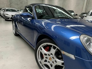 2005 Porsche Boxster 987 MY05 S Blue 6 Speed Manual Convertible