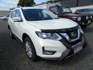 2017 Nissan X-Trail T32 ST-L X-tronic 2WD White 7 Speed Constant Variable Wagon.