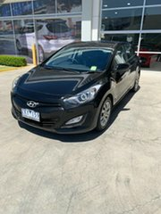 2012 Hyundai i30 GD Active Black 6 Speed Sports Automatic Hatchback.