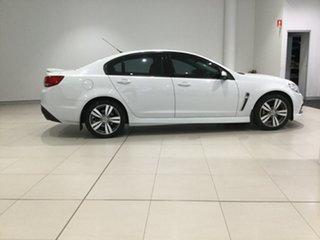 2014 Holden Commodore VF MY14 SV6 White 6 Speed Sports Automatic Sedan.