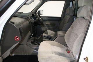 2006 Nissan Patrol GU DX (4x4) White 5 Speed Manual 4x4 Leaf Cab Chassis