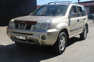 2004 Nissan X-Trail T30 ST (4x4) Gold 4 Speed Automatic Wagon.