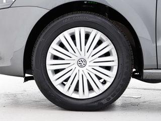 2016 Volkswagen Polo 6R MY16 81 TSI Comfortline Grey 7 Speed Auto Direct Shift Hatchback