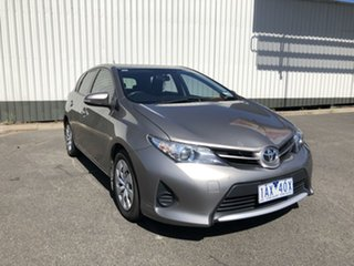 2013 Toyota Corolla ZRE182R Ascent S-CVT Brown 7 Speed Constant Variable Hatchback.