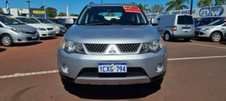 2007 Mitsubishi Outlander ZG MY07 LS Silver 6 Speed Constant Variable Wagon.