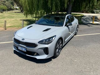 2019 Kia Stinger CK MY19 GT Fastback Grey 8 Speed Sports Automatic Sedan.