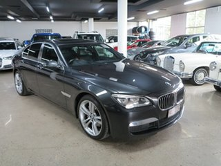 2012 BMW 7 Series F01 LCI 730d Steptronic Grey 8 Speed Sports Automatic Sedan.