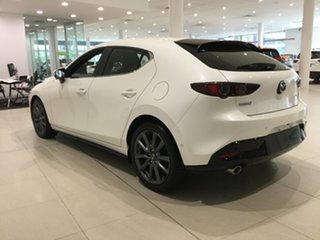 2019 Mazda 3 BP2HL6 G25 SKYACTIV-MT Evolve Snowflake White 6 Speed Manual Hatchback