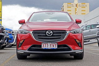 2019 Mazda CX-3 DK4W7A sTouring SKYACTIV-Drive i-ACTIV AWD Red 6 Speed Sports Automatic Wagon.