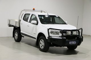 2016 Holden Colorado RG MY16 LS (4x2) White 6 Speed Manual Crew Cab Chassis