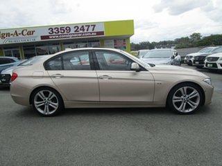 2015 BMW 3 Series F30 LCI 320i Sport Line Gold 8 Speed Sports Automatic Sedan