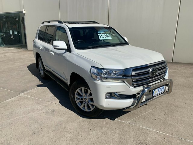 Used Toyota Landcruiser VDJ200R Sahara Launceston, 2016 Toyota Landcruiser VDJ200R Sahara White 6 Speed Sports Automatic Wagon
