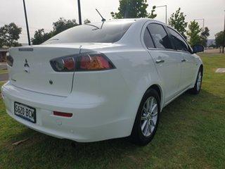 2015 Mitsubishi Lancer CJ MY15 LS White 5 Speed Manual Sedan.