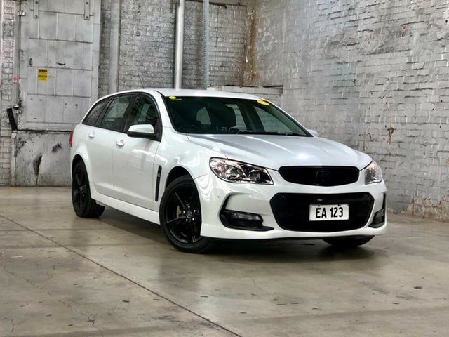 Used Holden Commodore VF II MY17 SV6 Sportwagon Mile End South, 2017 Holden Commodore VF II MY17 SV6 Sportwagon White 6 Speed Sports Automatic Wagon