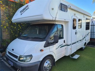 2004 Ford Transit White Motor Home.