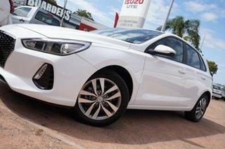 2019 Hyundai i30 PD2 MY19 Active White 6 Speed Automatic Hatchback.