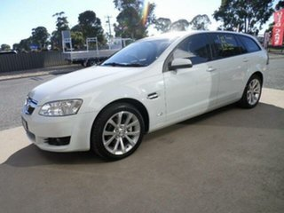 2010 Holden Berlina VE II International White 6 Speed Automatic Sportswagon.