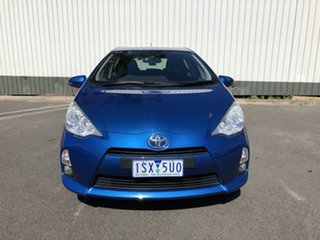 2013 Toyota Prius c NHP10R E-CVT Blue 1 Speed Constant Variable Hatchback Hybrid