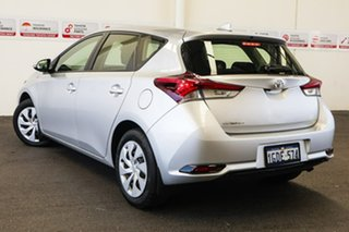 2016 Toyota Corolla ZRE182R MY15 Ascent Silver Pearl 7 Speed CVT Auto Sequential Hatchback