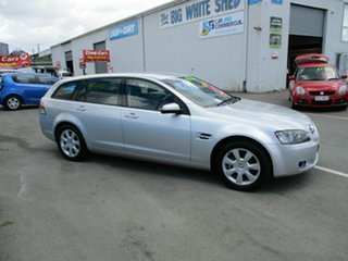 2008 Holden Commodore VE Berlina Silver 5 Speed Automatic Wagon.