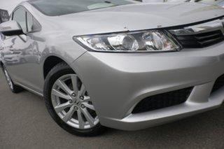 2012 Honda Civic 9th Gen VTi-L Alabaster Silver 5 Speed Sports Automatic Sedan.