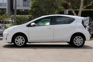 2015 Toyota Prius c NHP10R MY15 Hybrid White Mist Continuous Variable Hatchback